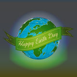 το καφετί καλυμμένο γήινο περιβαλλοντικό φύλλωμα ημέρας πηγαίνει πηγαίνοντας πράσινο δέντρο κειμένων συνθημάτων ρητών φράσεων φύσ Ελεύθερη απεικόνιση δικαιώματος