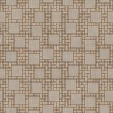 Το καφετί τετραγωνικό αφηρημένο σχέδιο κεραμιδιών γεωμετρικού σχεδίου επαναλαμβάνει Backg Στοκ φωτογραφία με δικαίωμα ελεύθερης χρήσης