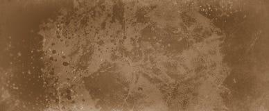 Το καφετί υπόβαθρο με το ελαφρύ και σκοτεινό καφετί σχέδιο χρώματος καφέ με spatter χρωμάτων στάζει ή πτώσεις και στενοχωρημένη π ελεύθερη απεικόνιση δικαιώματος