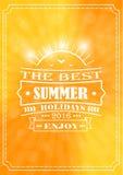 Το καλύτερο καλοκαίρι και οι καλύτερες καλοκαιρινές διακοπές Στοκ φωτογραφίες με δικαίωμα ελεύθερης χρήσης