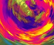 το κείμενο φαντασίας ανασκόπησης γράφει το σας Διασπορά σύννεφων χρώματος Αφηρημένα ζωηρόχρωμα σύσταση και υπόβαθρο Κατσαρωμένο δ απεικόνιση αποθεμάτων