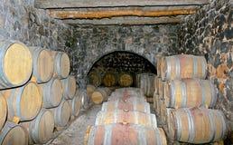 Το κελάρι κρασιού. Στοκ εικόνα με δικαίωμα ελεύθερης χρήσης