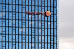 Το κεντρικό γραφείο Swedbank, Vilnius Στοκ εικόνες με δικαίωμα ελεύθερης χρήσης
