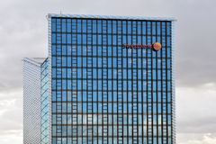 Το κεντρικό γραφείο Swedbank, Vilnius Στοκ Εικόνες