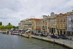 Το κεντρικό κανάλι του Αβέιρο, Πορτογαλία Στοκ Εικόνες