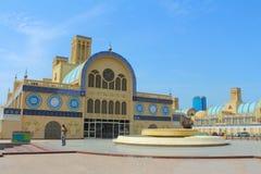 Το κεντρικό Souq στη Σάρτζα, Ηνωμένα Αραβικά Εμιράτα στοκ εικόνες με δικαίωμα ελεύθερης χρήσης