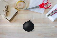 Το κενό κιβώτιο είναι εργαλείο για το κιβώτιο Στοκ εικόνες με δικαίωμα ελεύθερης χρήσης