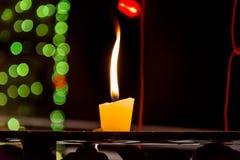 1 το ΚΕΡΙ φωτίζει Στοκ Εικόνα