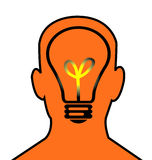 το κεφάλι σκέφτεται ελεύθερη απεικόνιση δικαιώματος