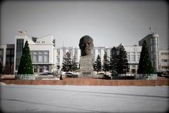 Το κεφάλι του μεγαλύτερου Λένιν Στοκ φωτογραφία με δικαίωμα ελεύθερης χρήσης