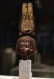Το κεφάλι του αγάλματος της βασίλισσας Στοκ Εικόνα