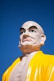 Το κεφάλι του γλυπτού του Βούδα στο βιετναμέζικο μοναστήρι Στοκ Εικόνα