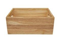 το κιβώτιο απομόνωσε ξύλι&n Στοκ εικόνα με δικαίωμα ελεύθερης χρήσης