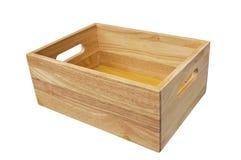 το κιβώτιο απομόνωσε ξύλι&n Στοκ εικόνες με δικαίωμα ελεύθερης χρήσης
