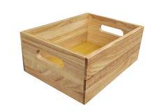 το κιβώτιο απομόνωσε ξύλι&n Στοκ Εικόνα