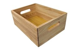 το κιβώτιο απομόνωσε ξύλι&n Στοκ φωτογραφία με δικαίωμα ελεύθερης χρήσης