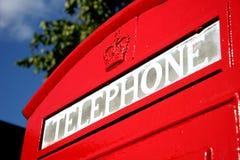 το κιβώτιο Βρετανοί τηλε Στοκ φωτογραφία με δικαίωμα ελεύθερης χρήσης