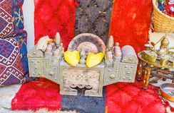 Το κιβώτιο γυαλισμάτων σε Antalya παλαιό Bazaar Στοκ Εικόνα