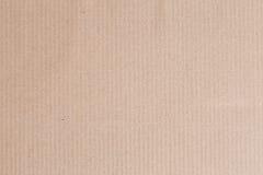 Το κιβώτιο καφετιού εγγράφου είναι κενό, αφηρημένο υπόβαθρο χαρτονιού Στοκ εικόνα με δικαίωμα ελεύθερης χρήσης