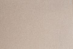 Το κιβώτιο καφετιού εγγράφου είναι κενό, αφηρημένο υπόβαθρο χαρτονιού Στοκ Φωτογραφία