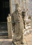 Το κινεζικό άγαλμα στο ναό του Βούδα νεφριτών στη Μπανγκόκ, Ταϊλάνδη Στοκ φωτογραφίες με δικαίωμα ελεύθερης χρήσης