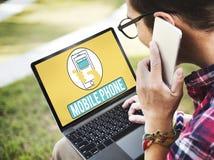 Το κινητό τηλεφωνικό κινητό τηλέφωνο κυψελοειδές επικοινωνεί την έννοια Στοκ φωτογραφίες με δικαίωμα ελεύθερης χρήσης