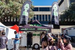 Το κινητό ATM στο South Bank του Μπρίσμπαν, Αυστραλία στοκ φωτογραφίες