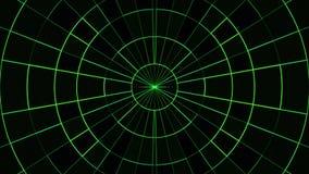 Το κινούμενο πλέγμα κύκλων νέου εμποδίζει υποβάθρου δυναμικό ζωντανεψοντα τεχνολογικό ζωηρόχρωμο ποιοτικών καθολικό κινήσεων ζωτι απεικόνιση αποθεμάτων