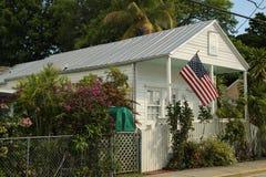 Το κλασικό μπανγκαλόου στην πόλη της Key West, Φλώριδα Στοκ φωτογραφίες με δικαίωμα ελεύθερης χρήσης