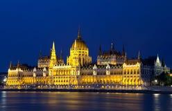Το Κοινοβούλιο, Βουδαπέστη Στοκ Εικόνες