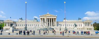Το Κοινοβούλιο στη Βιέννη, Αυστρία στοκ εικόνες με δικαίωμα ελεύθερης χρήσης