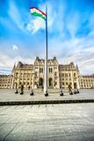 το Κοινοβούλιο της Βουδαπέστης Ουγγαρία Στοκ Φωτογραφία