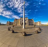 το Κοινοβούλιο της Βουδαπέστης Ουγγαρία Στοκ Φωτογραφίες