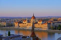 Το Κοινοβούλιο της Βουδαπέστης Στοκ φωτογραφίες με δικαίωμα ελεύθερης χρήσης