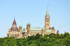 το Κοινοβούλιο του Καναδά Οττάβα κτηρίων Στοκ φωτογραφία με δικαίωμα ελεύθερης χρήσης