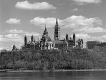 το Κοινοβούλιο του Καναδά Στοκ Εικόνες