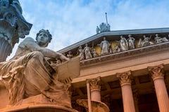 το Κοινοβούλιο Βιέννη τη&si Στοκ Φωτογραφία