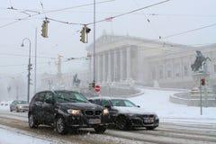 το Κοινοβούλιο Βιέννη Στοκ Φωτογραφίες