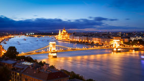 Το Κοινοβούλιο, Βουδαπέστη Στοκ φωτογραφία με δικαίωμα ελεύθερης χρήσης
