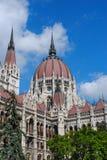 Το Κοινοβούλιο της Βουδαπέστης, Ουγγαρία στοκ εικόνες
