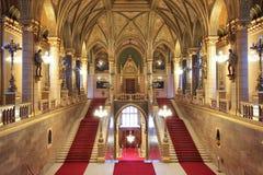 Το Κοινοβούλιο της Βουδαπέστης στοκ εικόνες