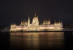Το Κοινοβούλιο της Βουδαπέστης στοκ εικόνα με δικαίωμα ελεύθερης χρήσης