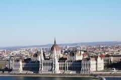 Το Κοινοβούλιο της Βουδαπέστης στοκ φωτογραφία με δικαίωμα ελεύθερης χρήσης
