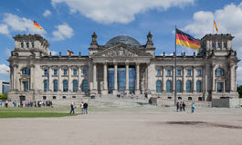 Το Κοινοβούλιο του Βερολίνου Στοκ φωτογραφία με δικαίωμα ελεύθερης χρήσης