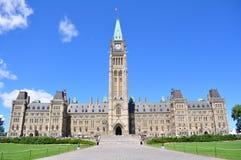 Το Κοινοβούλιο του Καναδά Στοκ εικόνες με δικαίωμα ελεύθερης χρήσης