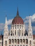 Το Κοινοβούλιο του κτηρίου της Ουγγαρίας στη Βουδαπέστη Στοκ Εικόνα