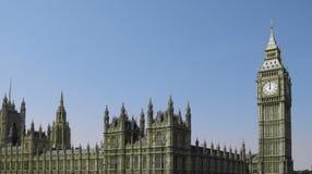 το Κοινοβούλιο του Λονδίνου σπιτιών Στοκ Φωτογραφία