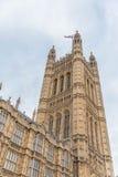 το Κοινοβούλιο του Λονδίνου σπιτιών Στοκ Εικόνα