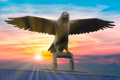 Το κοράκι - Anchorage, Αλάσκα Στοκ εικόνα με δικαίωμα ελεύθερης χρήσης