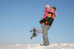 το κορίτσι αγοριών δίνει το s Στοκ φωτογραφία με δικαίωμα ελεύθερης χρήσης
